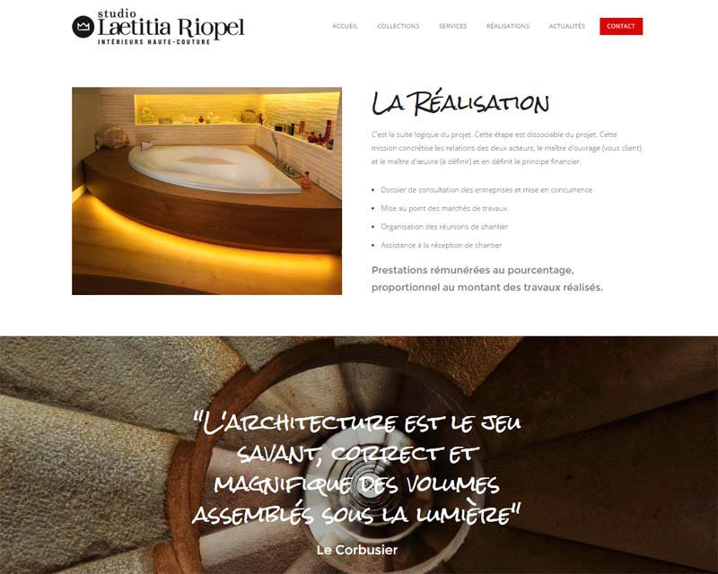 Cration De Site Internet Pour Architecte  Finistre  Small Company