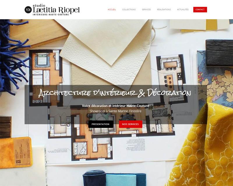 Site internet-Architecture d'intérieur et décoration
