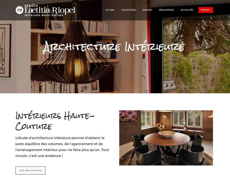 Site web-Architecture intérieure