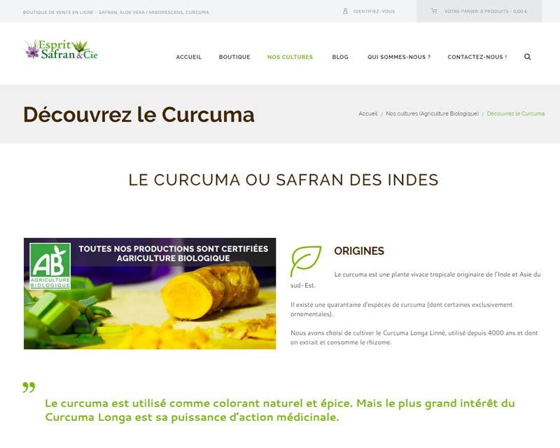 Boutique en ligne-Épices-Finistère