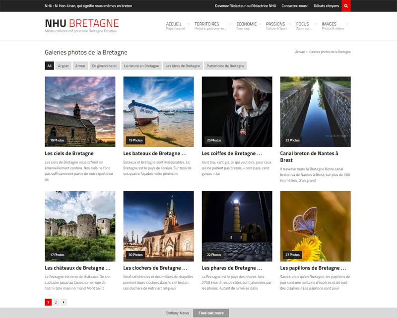 Site web association NHU