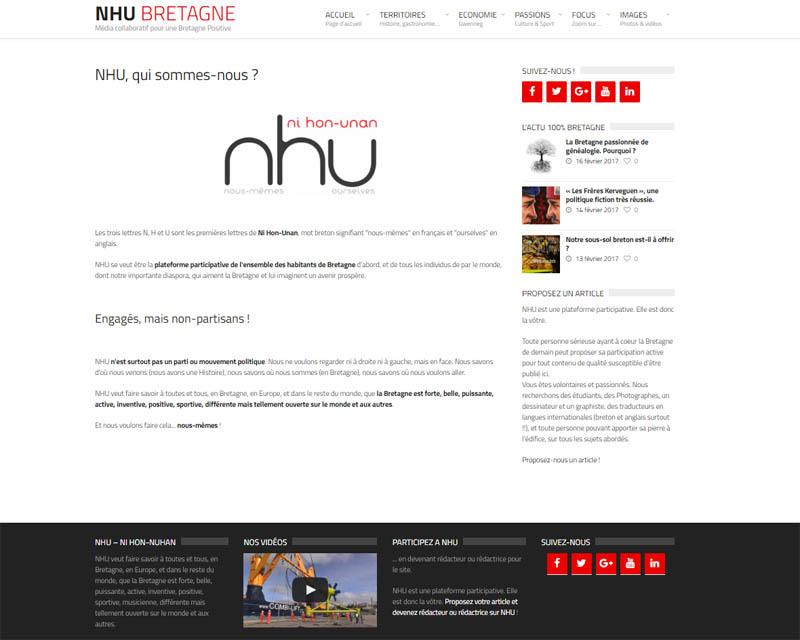 Site internet association NHU-Qui sommes-nous
