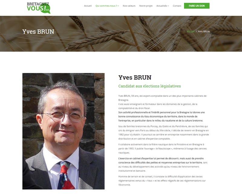 Site internet-Elections législatives