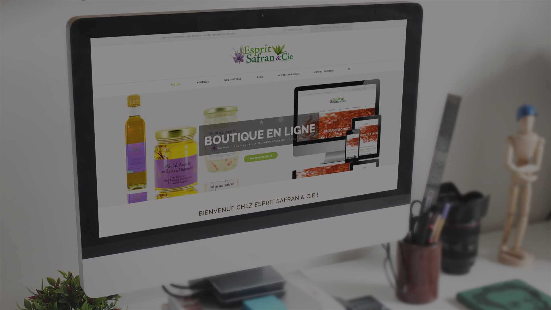 Conception Boutique en ligne-Quimper