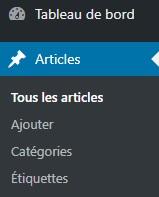 Articles WordPress