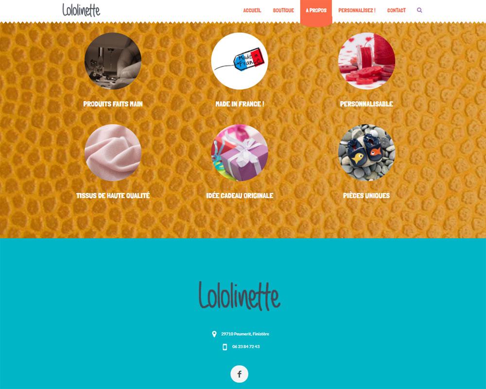 A propos - Lololinette