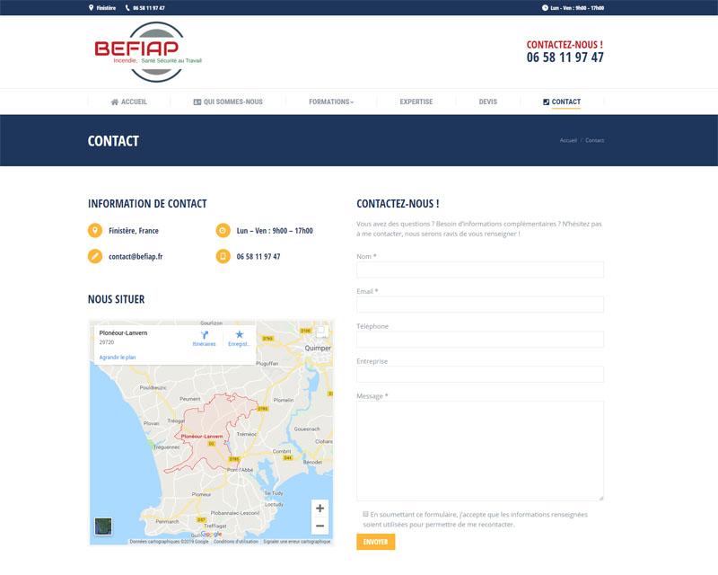 Contact - Befiap