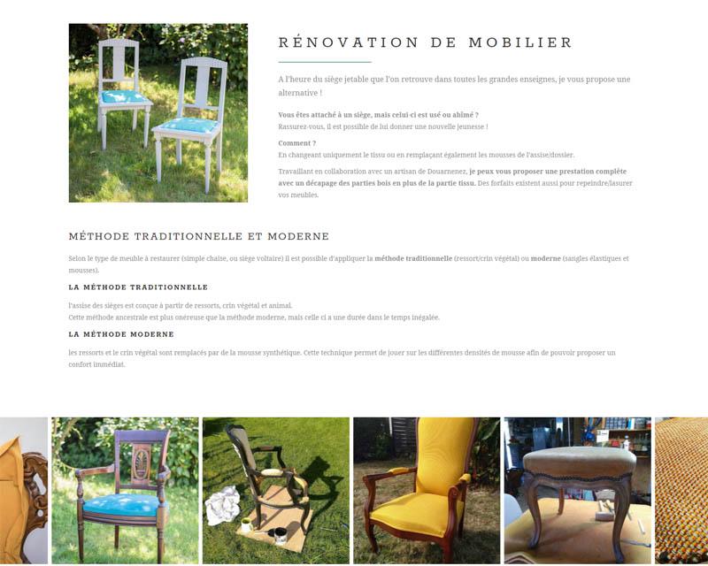 Restauration de mobilier - L'atelier d'Enora